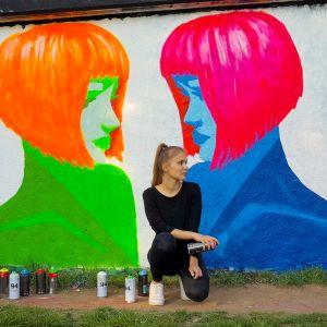 ABGESAGT //  Vernissage: Street Art mit Kristina Schneider